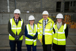 First Minister visits hub North Scotland projects