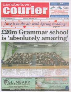 Fantastic Press Coverage by the Campbeltown Courier