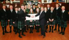 Wick Pipe Band strikes right note with cash boost from hub North Scotland