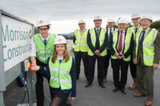 Topping out ceremony marks milestone for new inverness Royal Academy