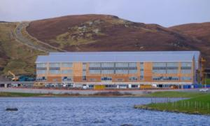 New AHS reaches wind and watertight stage