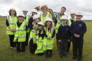 First turf cut at site of Wick Community Campus
