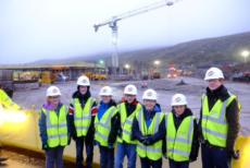 Anderson High School pupils reporting on new school build