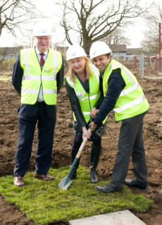 Construction start marked for Foresterhill Health Centre