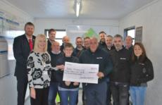 Another Charity Donation from the Lochside Academy Team (SOTC Project)